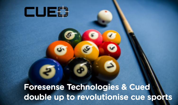 Foresense Technologies & Cued double up to revolutionise cue sports
