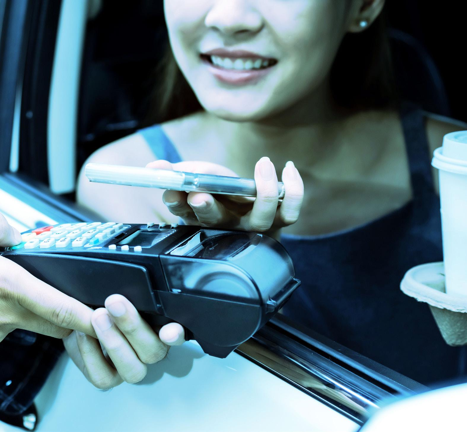 Fast Food, Drive Through and Direct to Car Shopping … Made Faster and Smarter With Foresense.2